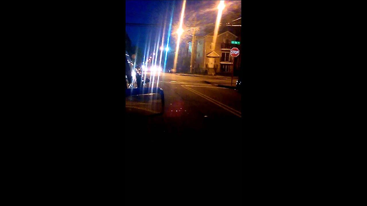 Police chase stolen car in Newark nj
