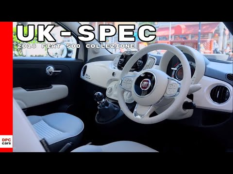 2018 Fiat 500 Collezione - UK Spec