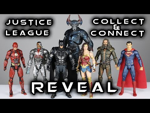DC Multiverse JUSTICE LEAGUE Collect-&-Connect STEPPENWOLF Reveal