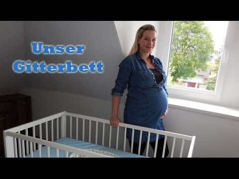 unser gitterbett i ikea gulliver i erstausstattung baby i. Black Bedroom Furniture Sets. Home Design Ideas