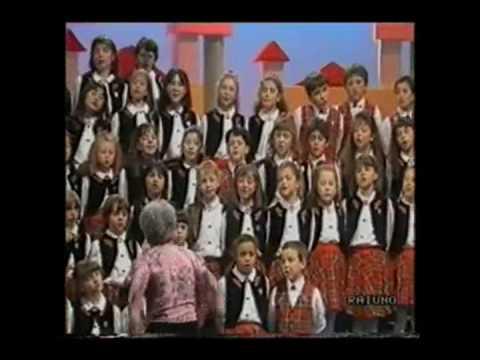 italian children songs cane e gatto bambini