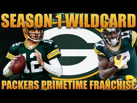Madden 18 Packers Franchise   Primetime 2.0 League Season 1 Wildcard Playoffs!