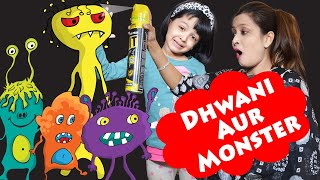 Dhwani Aur Monster | Family  Short Movie | Cute Sisters
