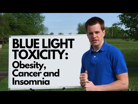 BLUE LIGHT TOXICITY: Obesity, Cancer and Insomnia