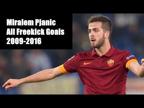 Miralem Pjanic | All Free-Kick Goals | 2009-2016 | Part 1