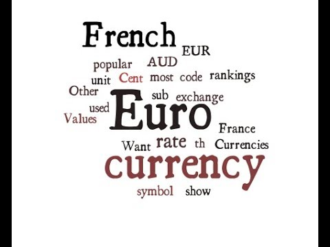 French Currency - Euro