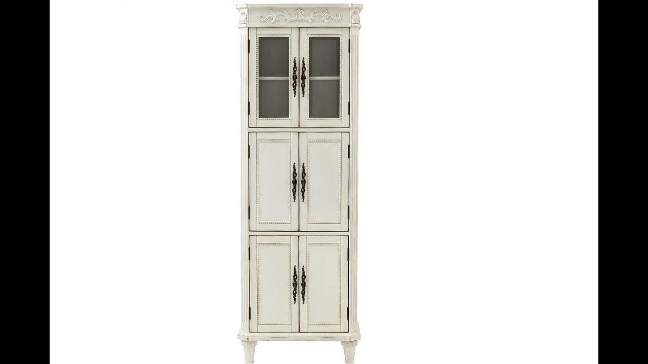mesmerizing corner linen cabinet ideas [ 1280 x 720 Pixel ]