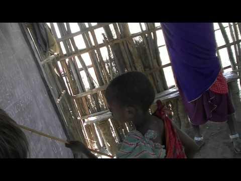 Video visite d'une ecole masai