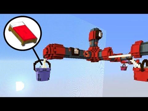 БЕД ВАРС В ТРУБАХ! ХОДИМ ЧЕРЕЗ ТРУБЫ ЗА КРОВАТЯМИ - (Minecraft Bed Wars)