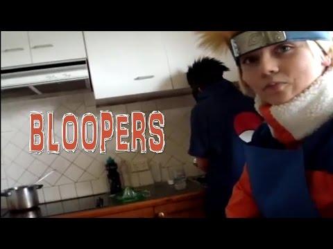 Naruto: Making Ramen Cake BLOOPERS