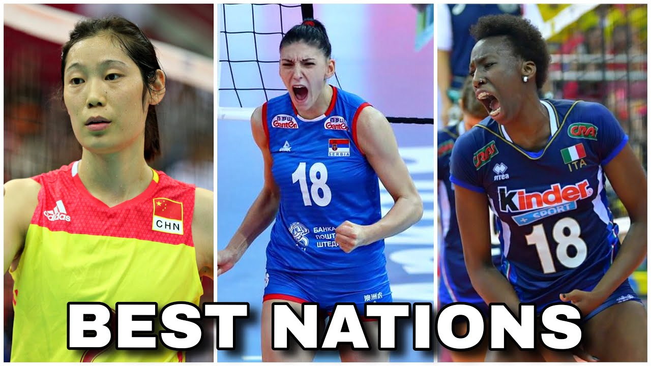 Top 10 Best Volleyball Nations Fivb Ranking Women S Hd Youtube