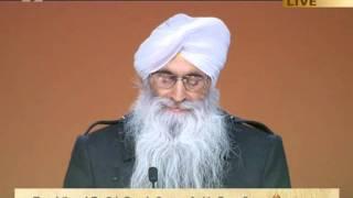 Sukdev Singh Bedi, Owner of Chola of Guru Baba Nanak @ at Ahmadiyya Jalsa UK 2011