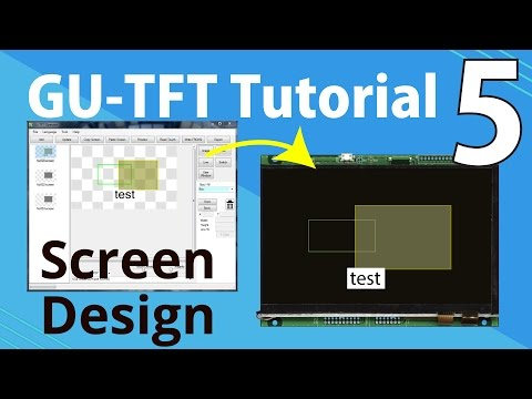 Noritake GU-TFT Tutorial | Part 5: GU-TFT Screen Design with GTO Tool