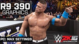 WWE 2K16: R9 390 Max Settings (1080p 60fps) | PC Gameplay!