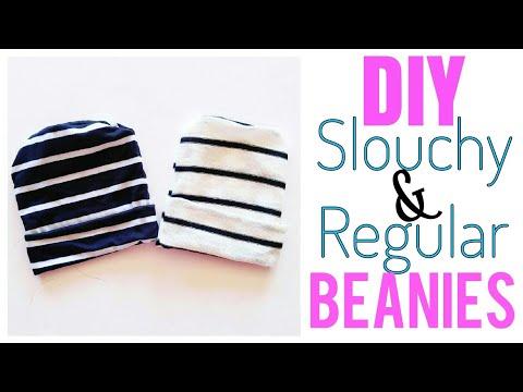 Easy Slouchy Beanie Tutorial | DIY Slouchy & Regular Beanie | EASY BEANIE TUTORIAL
