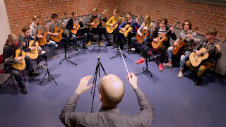 J.S.Bach - Air (on the G string) - Kitarissimo! guitar orchestra