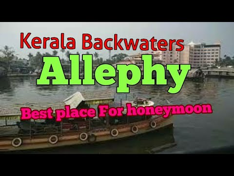 Kerala Backwaters (House Boats) Allephy beautiful place for honeymoon