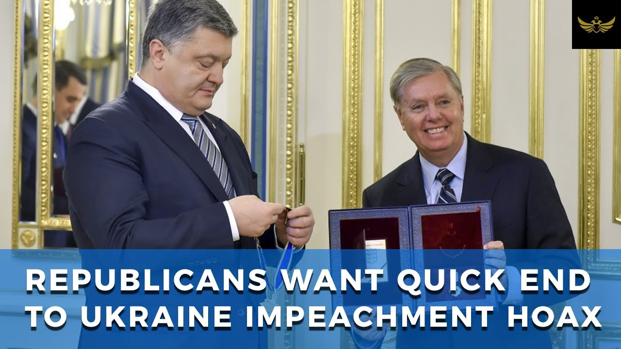 No witnesses, no long trial. Republicans want quick end to Ukraine impeachment hoax