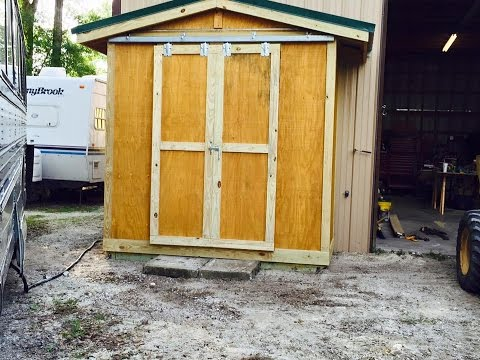 Building the Trash House (aka Garbage Shed)