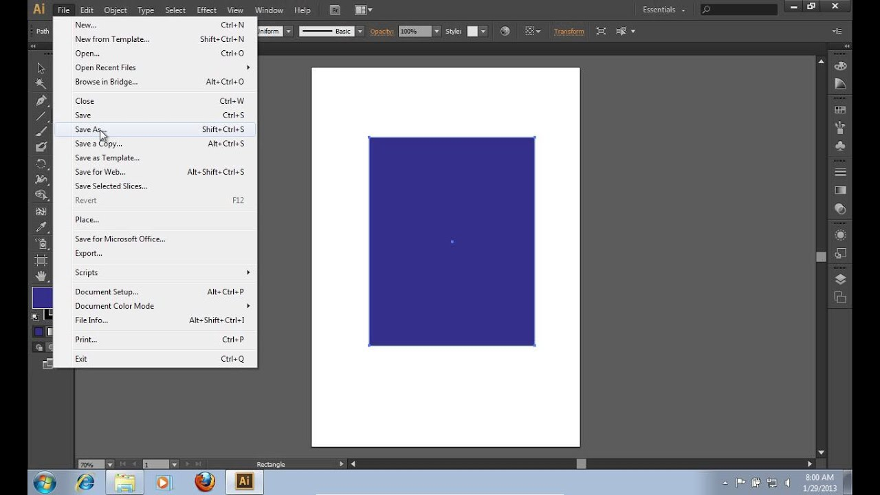 How to Export Adobe Illustrator CS6 File to CorelDraw