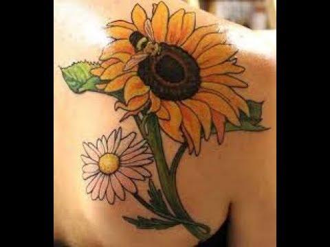 Tatuajes De Girasoles Ideas Para Tu Tatuaje Youtube