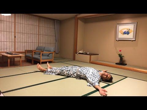 Japanese ryokan hotel room tour w private onsen bath - Ryokan tokyo with private bathroom ...