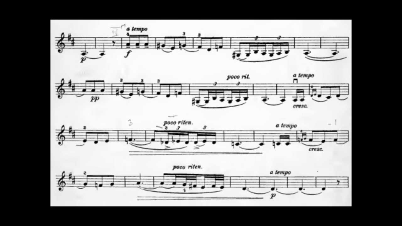 Pablo de Sarasate -- Spanish Dances No.1 -- Malaguena Op. 21