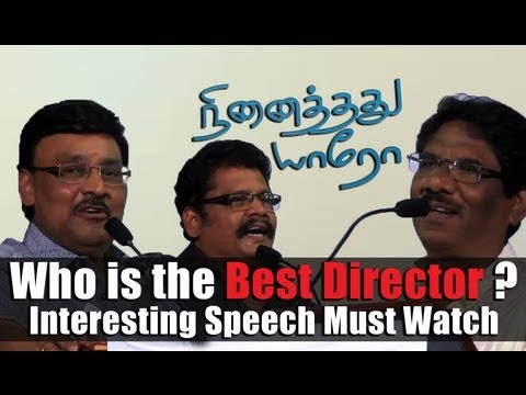 who is the best Director.? Ks Ravi Kumar, K. Bhagyaraj and Bharathiraja snubbing Pyramid Nadarajan