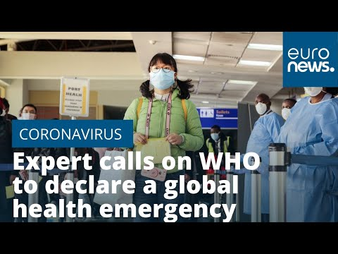 Expert Calls On WHO To Declare Coronavirus A Global Health Emergency
