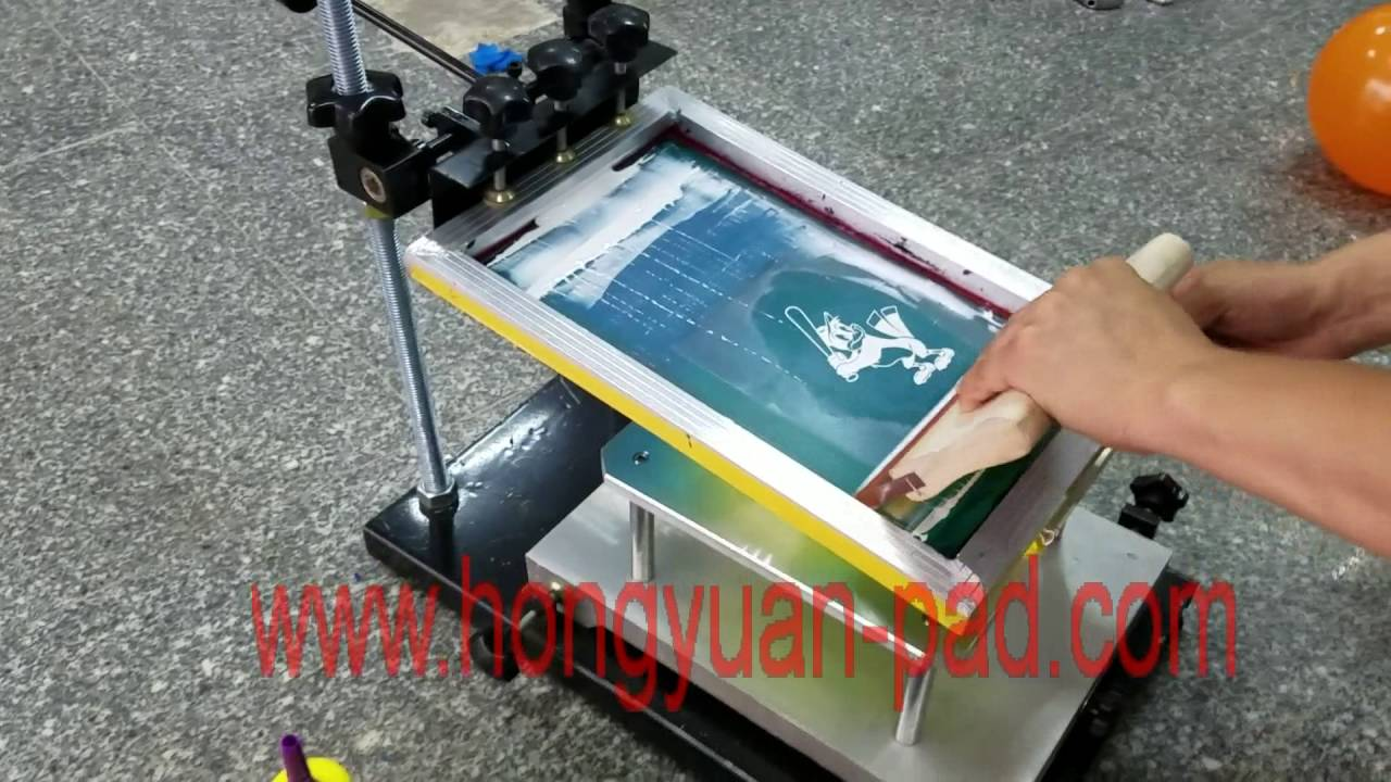 balloon printing machine - YouTube