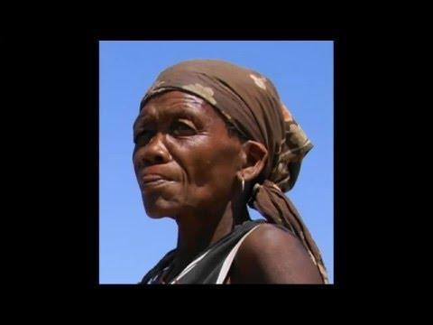 A bushman village - Botswana video