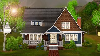 Sims 3 Speed Build   Elmwood Cottage
