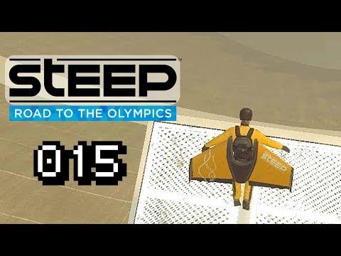 IN DEN ABGRUND SPRINGEN !? - Let's Play Steep Road to the Olympics Gameplay Deutsch German #015