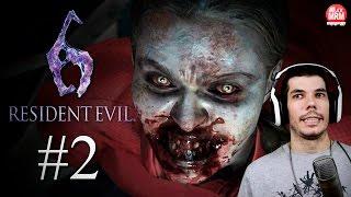 Resident Evil 6 #2 - ( Leon ) : IVY, UNIVERSIDADE EM CAOS!