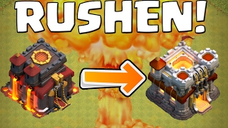 RATHAUS 11 RUSHEN! || CLASH OF CLANS || Let's Play CoC [Deutsch German HD]