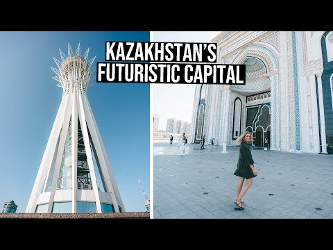 48 Hours in Kazakhstan's Capital City | Nur Sultan (Astana) Vlog