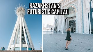 48 Hours in Kazakhstan's Capital City | Nur Sultan (Astana) Vlog