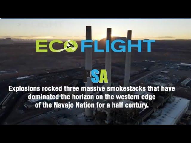 Navajo Generating Station Demolition by Drone