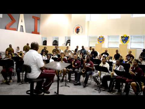 Morehouse College Marching Band 2013 - After the Love is Gone