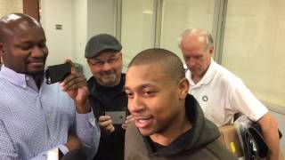 "Isaiah Thomas not concerned with ""stupid"" doubters, appreciative of Boston Celtics"
