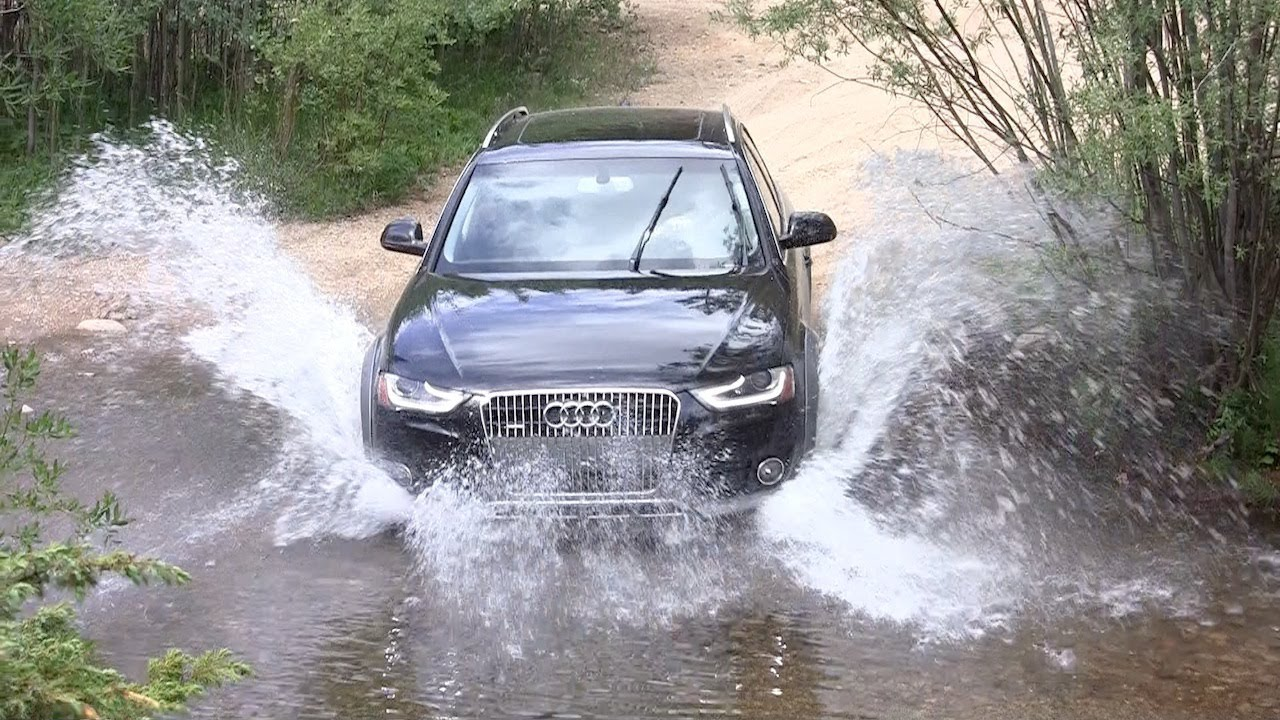 2013 Audi Allroad Quattro Off Road Review Amp Drive Youtube