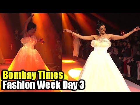 Sushmita Sen's DANCE on Ramp at Bombay Times Fashion Week Day 3