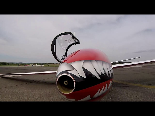 MDM-1 Fox Glider Aerobatics 2018