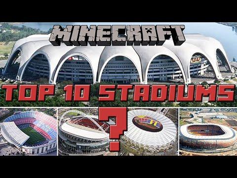 TOP 10 MINECRAFT STADIUM FEBRUARY 2016