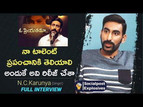 Singer N.C.Karunya Full Interview | Socialpost Explosives