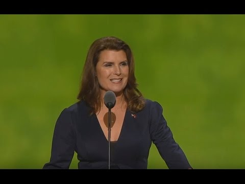 Kimberlin Brown. Speech at Republican National Convention. July 19, 2016. RNC 2016. Cleveland, Ohio.