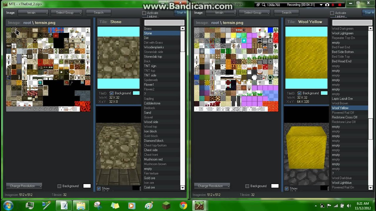 Minecraft Tutorial #2- Texture Pack Mix-up using MTE (KENDAWG2000) - YouTube