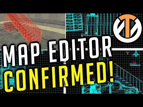 Overwatch - MAP EDITOR CONFIRMED! - New Maps Coming!