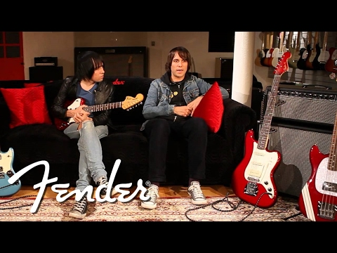 Fender Interview with the Cribs - YouTube
