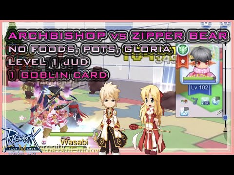 Archbishop's Jud Guide - 1 Hit Zipper Bears With Only Blessing (Ragnarok Online Mobile)